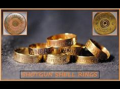 Turn old used shotgun shells into beautiful rings and jewelry. Bullet Shell Jewelry, Shotgun Shell Jewelry, Bullet Casing Jewelry, Ammo Jewelry, Jewelry Art, Gothic Jewelry, Bullet Ring, Bullet Art, Jewelry Necklaces