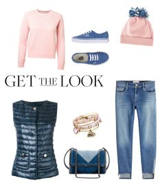 Untitled #7 by saturn43210 on Polyvore featuring polyvore fashion style Herno Frame Vans STELLA McCARTNEY Alex and Ani Federica Moretti clothing