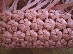 エコクラフト、石畳編み,作り方 - Google-søgning