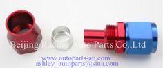 Str Teflon type fittings AN Fittings- AN4, AN6,AN8, AN10, AN12, AN16 Racing Auto Parts, Car Parts