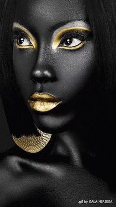 Pin by audrey shireman on face art art, makeup art, black women art. African Beauty, African Art, African Paintings, Art Paintings, Art Afro, Art Visage, Make Up Art, Foto Art, My Black Is Beautiful