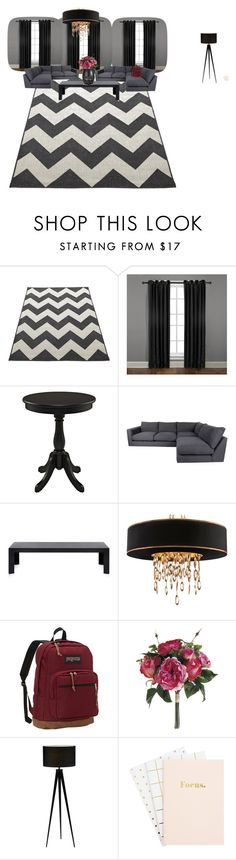 """""""my house"""" by zoeewilliams on Polyvore featuring interior, interiors, interior design, home, home decor, interior decorating, Veratex, Kartell and JanSport"""