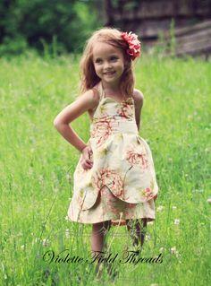 Viola Sweetheart Dress PDF Pattern by VioletteFieldThreads on Etsy, $8.50