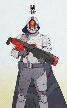 Destiny Hunter, Destiny Game, My Destiny, Character Concept, Concept Art, Character Design, Cyberpunk, Destiny Cosplay, Destiny Bungie