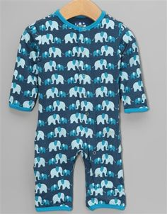 a125fe1e9249d3 Twilight Elephant Bamboo Coveralls