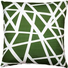 Bird's Nest Green Throw Pillow from Pillow Décor – red accent pillow Green Throw Pillows, Toss Pillows, Outdoor Throw Pillows, Accent Pillows, Decorative Throw Pillows, How To Clean Pillows, Nest Design, Teal Background, Geometric Throws