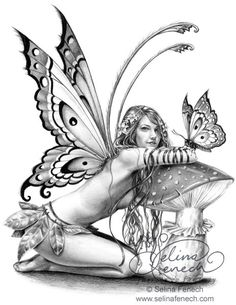 fairy drawings | ... Drawing Tips @ Selina Fenech – Fairy Art and Fantasy Art Gallery