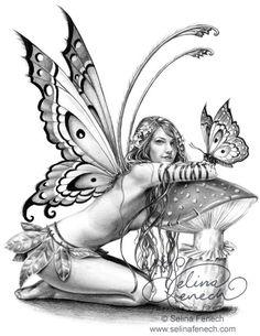 Dark Fairy Drawings | ... Drawing Tips @ Selina Fenech – Fairy Art and Fantasy Art Gallery