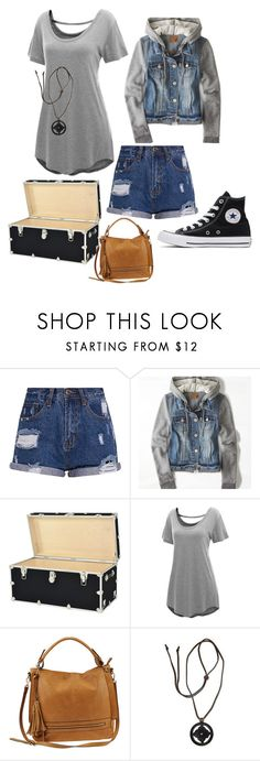 """""""Untitled #350"""" by twilightphonix on Polyvore featuring American Eagle Outfitters, Urban Expressions, NOVICA and Converse"""