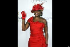 a1e83db05b4 Mary J. Blige on the red carpet for the 2012 Kentucky Derby