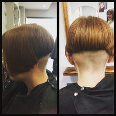 Undercut with 0.5 on this natural beauty ❤️ #hipster #hairdressing