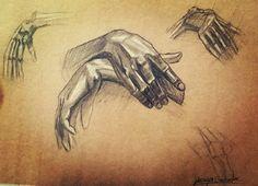 #hand #hands #draws #drawing #reprodüksiyon #el #çizim #sanat #karakalem