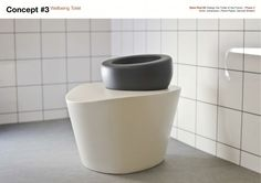 Toilet Of The Future Design - the ergonomically correct wellbeing toilet
