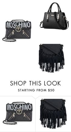 """Bags"" by jasmin-baja ❤ liked on Polyvore featuring Moschino"