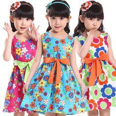 Barato menina vestido de verão, comprar qualidade menina vestido de verão diretamente de fornecedores da China para menina vestido de verão, meninas descobrir vestidos de patinagem, menina vestido de festa