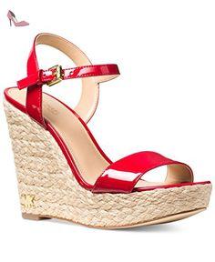Michael Kors , Sandales pour femme - rouge - rouge vif, - Chaussures michael kors (*Partner-Link)