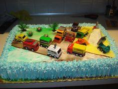 Τούρτα γενεθλίων για αγοράκια ! παρτε μια βαθια ανασα και παμε!!!!!!! ΠΑΝΤΕΣΠΑΝΙ (μια δοση) 5 αυγά – 1 κούπα ζαχαρη -1 κουπα φαρινα – 3 κουταλιες της σουπας κακαο. Χτυπαμε στο μιξερ πολύ καλα την ζαχαρη με τα αυγα Birthday Cake, Birthday Ideas, Cool Stuff, Toys, Party, Desserts, Recipes, Activity Toys, Tailgate Desserts