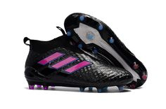 buy online b6284 8c270 Adidas ACE 17+ Purecontrol FG Black Shock Pink Blue 2017 Boots ,