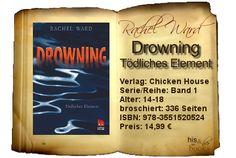 """""""Drowning"""" ist ganz anders, als alles, was ich bisher gelesen habe. Man kann nicht wirklich erzählen, was passiert, ohne dass man zu viel preisgibt. Aber das Faszinierende an dem Buch ist auch die fesselnde Stimmung und das Spiel damit, nicht zu wissen, was passiert. Dazu ein rasanter Schreibstil, der es einem beinahe unmöglich macht, Rachel Wards Geschichte zur Seite zu legen."""