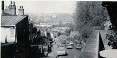 Cottages demolished in Balkerne Lane (along with Balkerne Lane