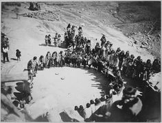 Hopi women's dance, Oraibi, Arizona, 1879 - NARA - 542441 - Hopi - Wikimedia Commons