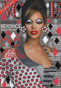Vogue featuring Beyonce - visual art by Ana Stumpf♥ ♥ ✿ Ophelia Ryan✿♥