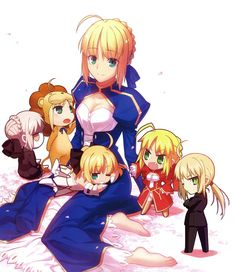 Find images and videos about anime, lily and nero on We Heart It - the app to get lost in what you love. Fate Stay Night Series, Fate Stay Night Anime, Fate Zero Saber, Fan Art Anime, Fate/stay Night, Arturia Pendragon, Fate Anime Series, Best Waifu, Cute Chibi