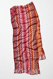 Limited edition Missoni scarf from Anthropologie