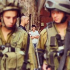 AL-KHALIL (HEBRON): Palestinian children targeted by the Nazi Military |  SHOAH