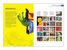 yearbook | Tumblr Yearbook Design, Yearbook Ideas, Grid Design, Layout Design, School Fonts, Yearbook Spreads, British Schools, Typography, Lettering