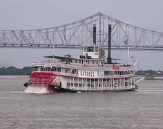 Natchez Riverboat - #TakemetoNOLA