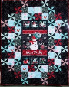 Sewing Projects, Projects To Try, Snowman Quilt, Christmas Quilting, Panel Quilts, Quilted Wall Hangings, Quilting Ideas, Snowmen, Chalkboard