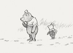 Winnie the Pooh and Piglet, too