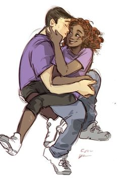 Frank Zhang and Hazel Levesque