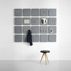 Wall Panels by Norm for interior Design Diy Casa, Concrete Crafts, Room Decor, Wall Decor, Diy Interior, Interior Design Inspiration, Furniture Design, Plywood Furniture, Sweet Home