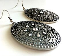 Antique Filigree Earrings by EridaneasBoutique on Etsy
