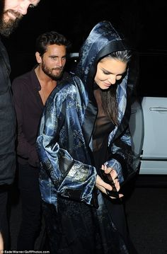 Scott Disick joins Kendall Jenner in Cannes for a night of partying