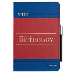 Ozaki Coat Wisdom Folio Case for iPad mini - Dictionary Blue