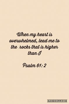 Psalm 61, Speak The Truth, The Rock, Gods Love, Truths, Bible, Thing 1, Biblia, Love Of God