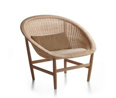 In 1950 Nanna and Jørgen Ditzel created an unusual bowl-shaped seat, essentially a basket hanging from a light oak frame, achieving a chair design that blended the seat and backrest into a bowl of a …