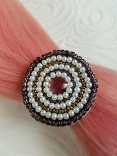 Check out this item in my Etsy shop https://www.etsy.com/nz/listing/501315528/amethyst-beaded-hair-tie-hair-elastic