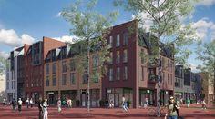 Multifuntionel appartementcomplex met dorps karakter. (PG11); Bron: http://www.nieuwbouw-in-utrecht.nl/project/5591/wonen-in-terwijde-centrum/, geraadpleegd op 22 januari 2014