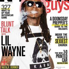Lil Wayne Covers Nylon Magazine December/January Issue