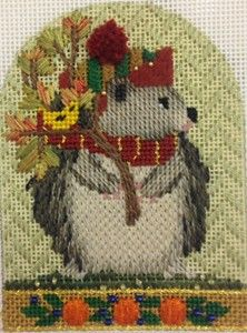 New Series of Thanksgiving Critters by Melissa Shirley! Stitch Guides available at The French Knot! 1800F