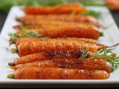 Spice Roasted Carrots - The Cilantropist (Christmas Easter Vegan Vegetarian Vegetables Appetizer / sides Roast it! Allspice Salt Nutmeg Blac...