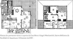 Casa da Rua Santa Cruz. Gregori Warchavchik. Pin adicionado por ConceptCasa.com.br