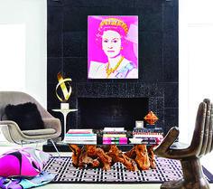 Pop Art 15 inspirujących pomysłów we wnętrzach   Dom-wnetrze