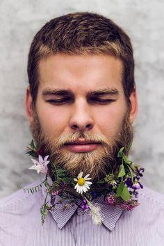 Easter Beard? (minus the flowers, great beard...)
