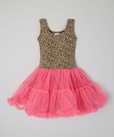 Wenchoice Hot Pink & Leopard Tutu Dress - Infant, Toddler & Girls | zulily