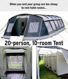 This is awesome just what you need for camping with all the family